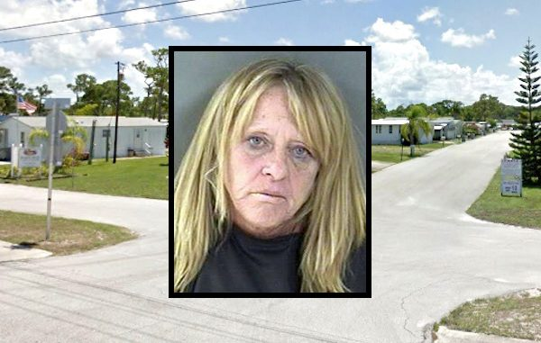 Police find crack cocaine on woman while trying to hide a crack pipe.