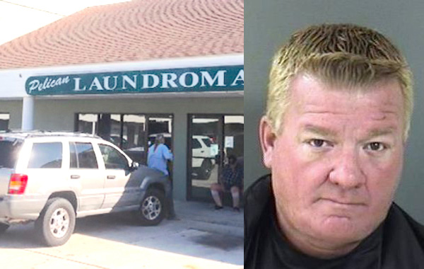 A worker for the Indian River County Firefighter's Fair was arrested for stealing from a Sebastian laundromat.