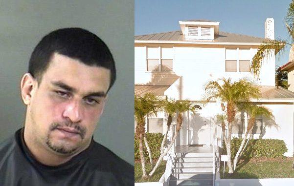 Man arrested after choking his girlfriend in Vero Beach.