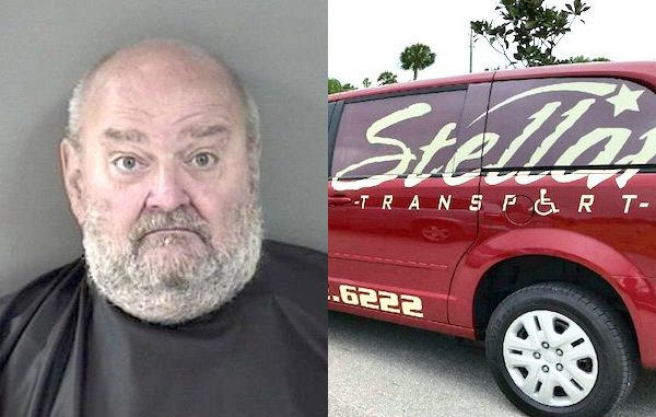 Naked man found in van with a fire extinguisher in Vero Beach.