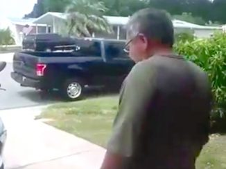 Man gets fed up with nosy neighbor and records him in Barefoot Bay.