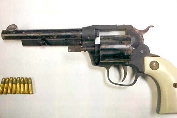Deputies retrieved the gun from the suspect.
