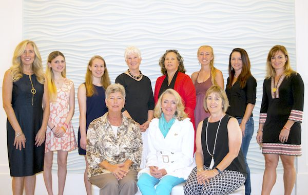 Top (L to R): Melody Ipolito, Melanie Coppola, Nikki Bouldin, Dorie Moore, Lourdes Soto, Ciara Golliher, Heather Reeb, Jacquline Carlon. Bottom (L to R): Shelley Stuven, Pam O'Donnell, Connie Johnson.