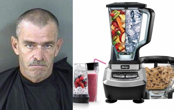 Grant man charged with theft after stealing Ninja blender from Sebastian Walmart.