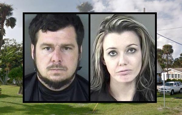 Sebastian Police arrest couple for having a small pot plant.