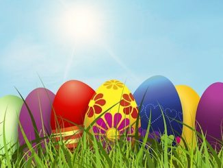 Easter Egg Hunts and Sunday Church services in Sebastian.