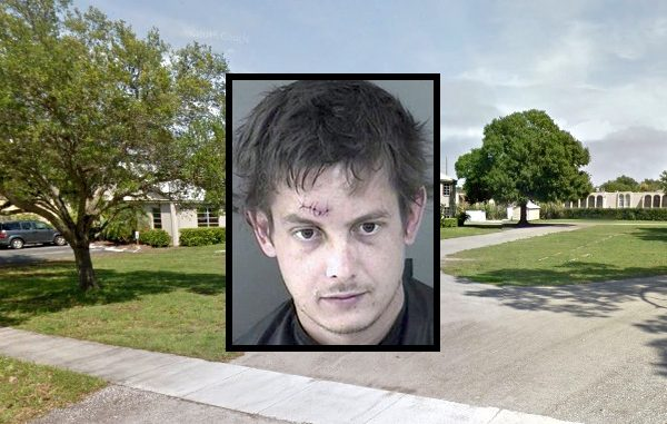 Man tries to steal skateboard ramp from Calvary Chapel in Vero Beach.