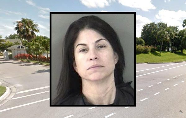 A 45-year-old Vero Beach woman was arrested after hitting her boyfriend with a closed fist.