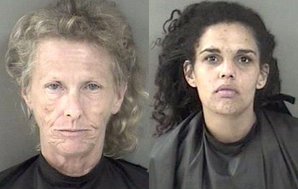 2 women charged in Fellsmere home burglary.
