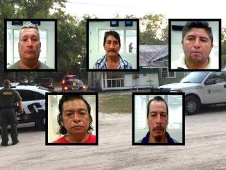 Two Border Patrol agents and four officers of the Fellsmere Police Department located the men at two addresses in Fellsmere.