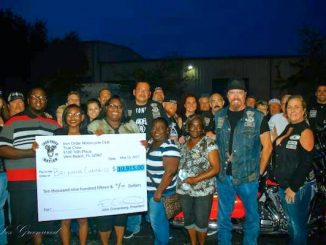 Vero Beach motorcycle club Iron Order raises money for Deputy Garry Chambliss' children.