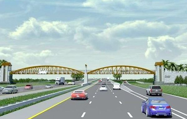 A new overpass near the Sebastian I-95 exit will honor the old railroad.
