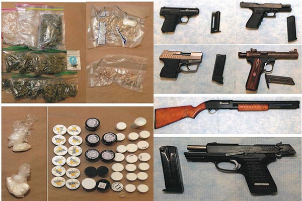 Detectives recovered several firearms and drugs from Vero Beach teens.