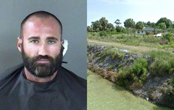 Man tries to steal fishing rods and a speargun from a home in Vero Beach.