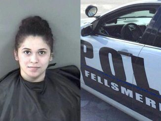 19-year-old woman arrested for battery on a law enforcement officer in Fellsmere.