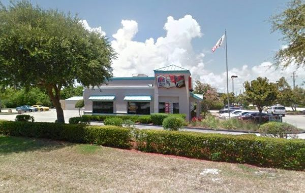 An employee was carjacked at the combined KFC, Taco Bell, and Pizza Hut restaurant in Sebastian.
