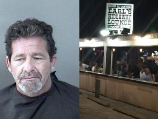 Man punches woman in bathroom at Earl's Hideaway in Sebastian.