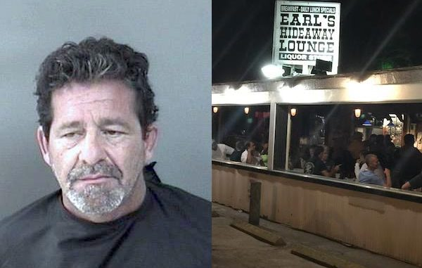 Sebastian man punches woman in bathroom at Earl's Hideaway.
