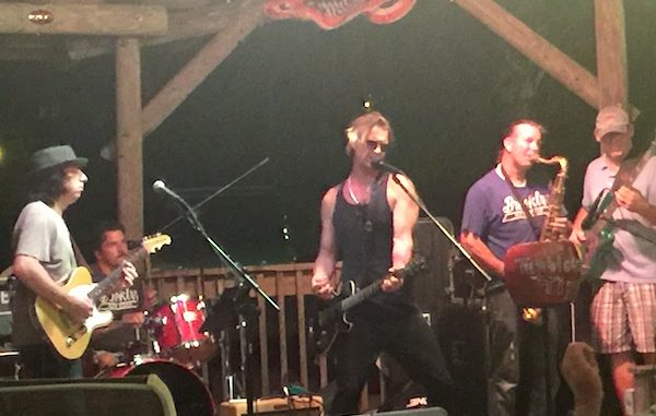 Sebastian Tiki Bar & Grill offers a jam session on Monday nights.