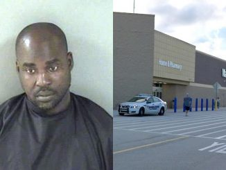A Vero Beach man was arrested after stealing merchandise from the Walmart in Sebastian.