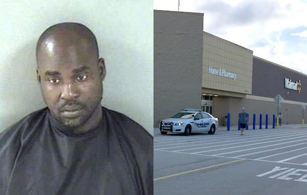 A Walmart Sebastian vendor was arrested after stealing merchandise.