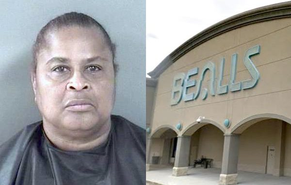 Woman chases security officer with pepper spray before she was arrested for shoplifting in Vero Beach.