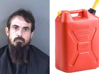 Vero Beach man caught siphoning gas from cars in church parking lot.