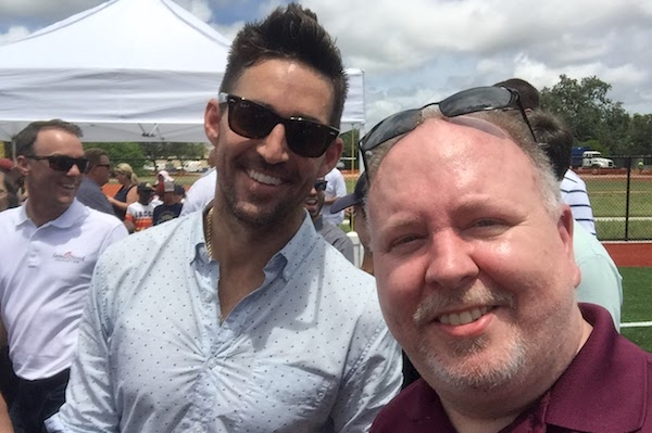 Jake Owen and Andy Hodges of Sebastian Daily.