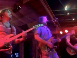 Captain Hiram's Sandbar was in full swing Friday night with Red Tide.