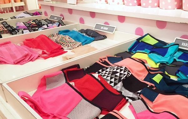 For a second time in two months, panties and thongs go missing at the Victoria's Secret store in Vero Beach.