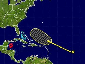 There are unfavorable environmental conditions that should limit the development of any storm during the next several days.