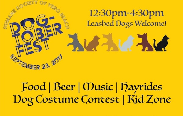 Dogtoberfest event hosted by the Humane Society of Vero Beach.