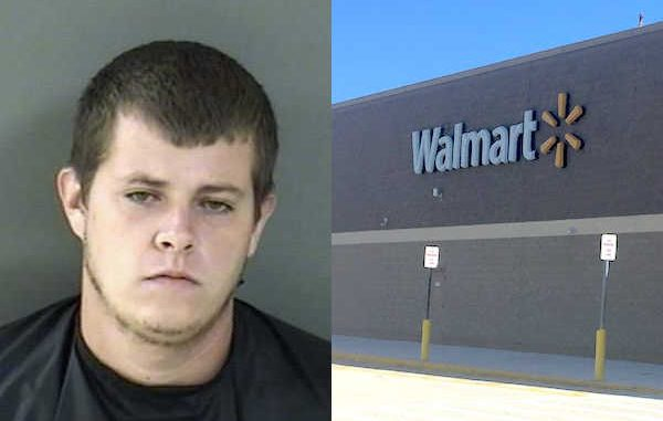 Sebastian Walmart calls police about Micco man stealing fishing lures and returning them for refund.