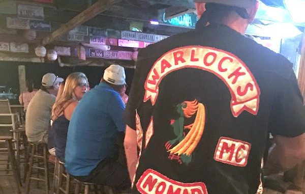 Motorcycle colors and vests are now banned at several establishments in Sebastian.
