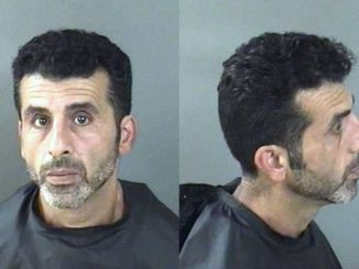 Sebastian man arrested after striking girlfriend during candy fight.