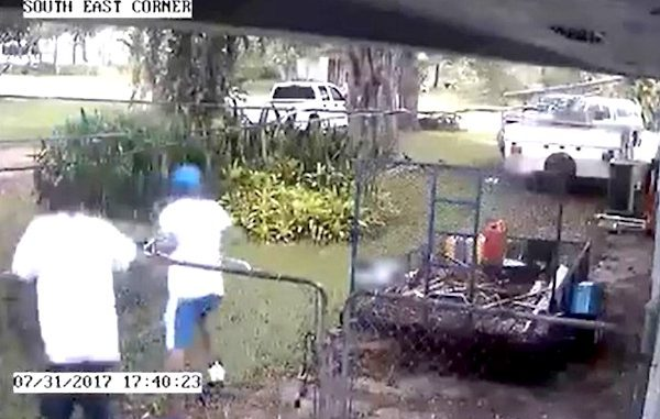 Police are searching for burglary suspects in Vero Beach.