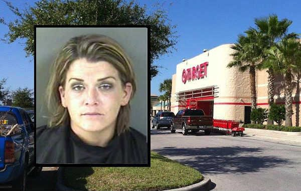 A Vero Beach woman, who was just arrested last week on child abuse charges, said she stole makeup from Target for her daughter.