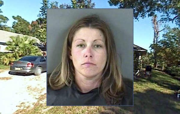 Woman tells police to shoot her while running from a Vero Beach residence.