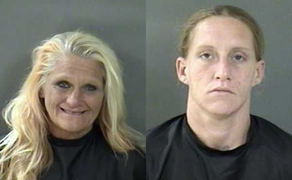 2 Vero Beach women were arrested after stealing multiple pieces of clothing at Walmart.