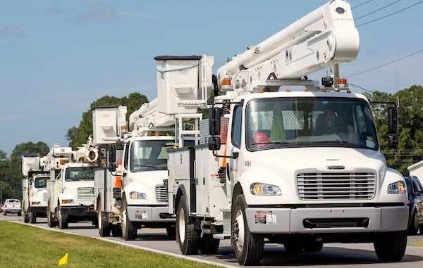 FPL says all of Sebastian, Fellsmere, and Vero Beach will have power restored in Indian River County by late Sunday.