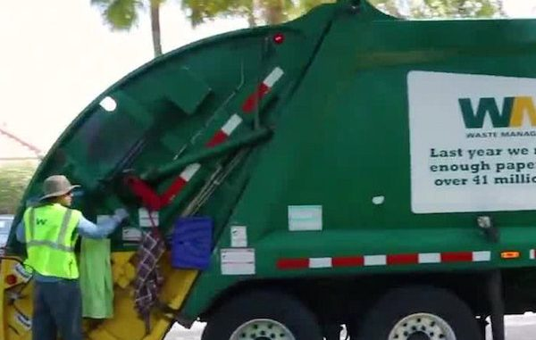 Garbage and yard debris pickup schedule for Sebastian, Vero Beach.