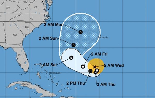 Sebastian and Vero Beach unlikely to get anything from Hurricane Jose as it moves farther out into the Atlantic.