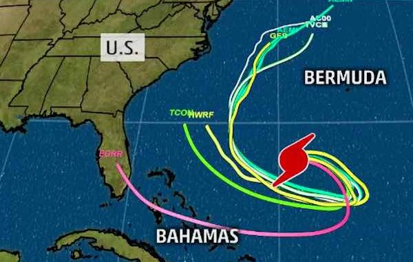 Hurricane Jose to turn a half-loop in Atlantic