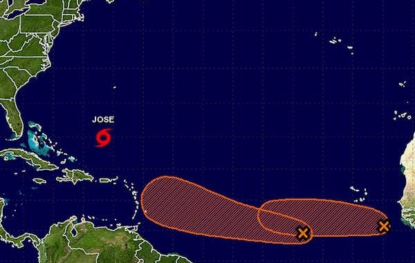 There's only a slight chance of further development of two tropical waves in the Atlantic Ocean.
