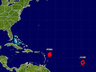 While Hurricane Irma churns in the Atlantic, residents in Sebastian and Vero Beach are carefully watching Tropical Storm Jose.