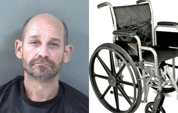 A Vero Beach man was arrested after beating an elderly woman who is disabled and reliant on a wheelchair.