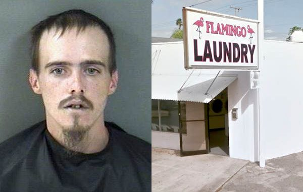 A man was arrested in Vero Beach after stealing a purse from a vehicle parked near Flamingo Laundry.