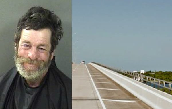 Vero Beach man arrested after making threats of rape to joggers on bridge.