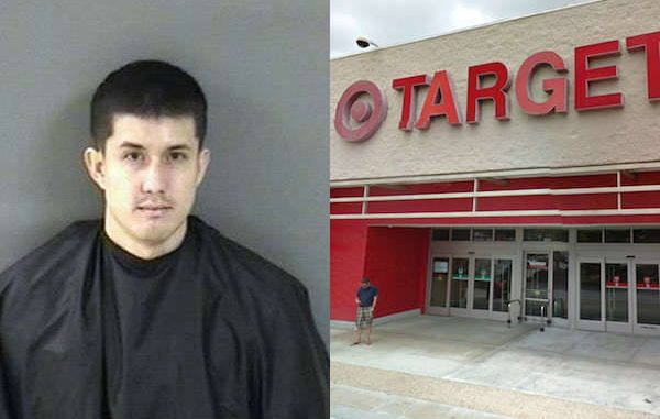 Man caught stealing cosmetics at the Vero Beach Target store.