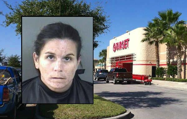 The Target store in Vero Beach called the Indian River County Sheriff's Office after a woman steals birthday presents for her son.
